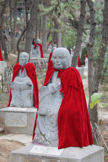 Scenes from Hong Luo Si - Red Snail Temple