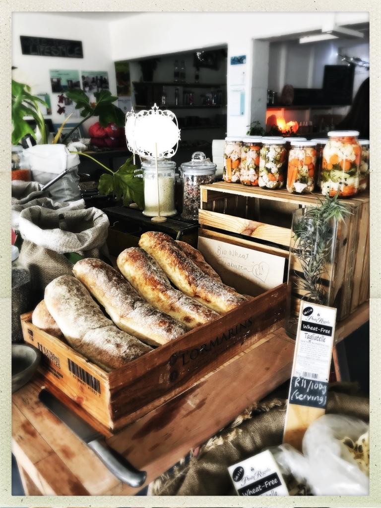unpackaged bread