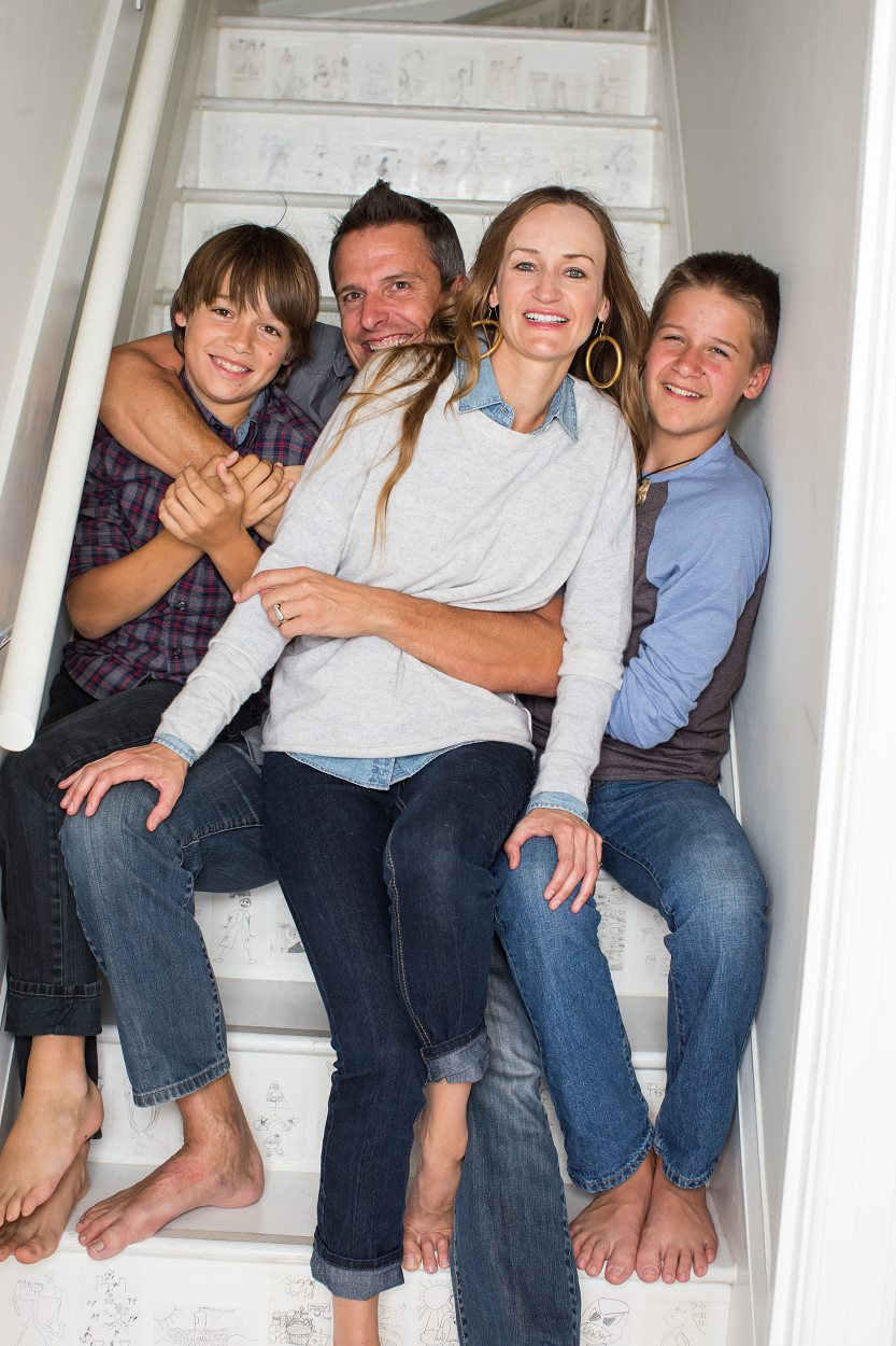 Bea and her family